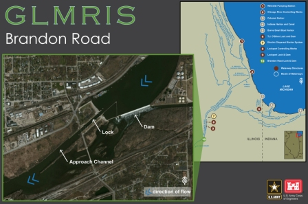 GLMRIS-Brandon Road Map
