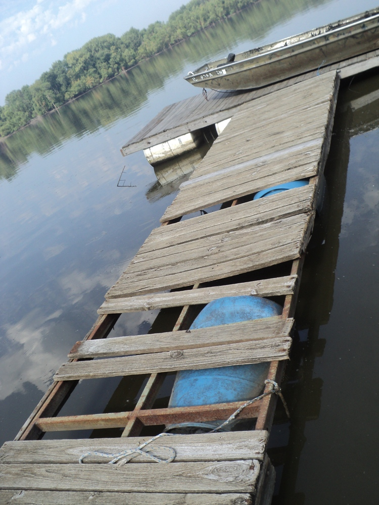 floating dock with barrels instructions