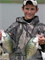 Boy with crappies