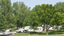 Campers camping at Coralville Lake.