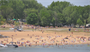 A popular spot in the summer at Coralville Lake is West Overlook Day Use Beach and Boat Ramp.