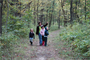 A family hike along the North Overlook Nature Trail