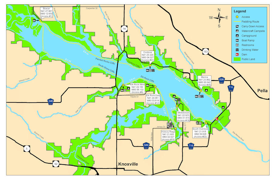 Rock Island District > Missions > Recreation > Lake Red Rock ... on