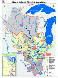 The Rock Island District Of The U S Army Corps Of Engineers Administers Federal Water Resource Programs In A 78 000 Square Mile Area Encomping The