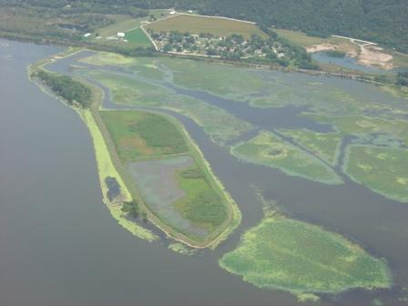 Sunfish Lake Upper Mississippi River Restoration Enviornmental Management Program Project.